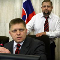Štefan Harabin a Robert Fico