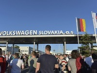Začal sa štrajk vo Volkswagene.