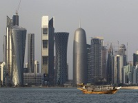 Mesto Doha v Katare.