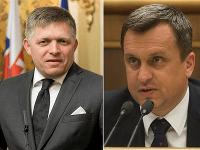 Robert Fico a Andrej Danko.