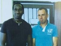 Ibrahim Maiga a Dominik Hrbatý