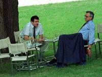 Rozdelenie ČSFD dohodli Mečiar s Klausom v záhrade vily Tugendhat.