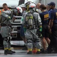 Výbuch mäsokombinátu v Severnej Karolíne.