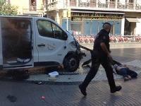Útok v Barcelone.