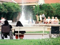 Kúpeľný ostrov v Piešťanoch pravidelne navštevujú zahraniční turisti.