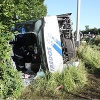 Havária autobusu v Rakúsku.