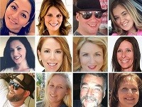 Tváre niektorých z obetí.