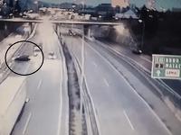 Nehoda pred tunelom Sitina