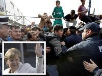 Angela Merkelová zrejme počas migrantskej krízy uplatnila dvojitú rétoriku.