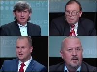 Včerajšia debata kandidátov v župných voľbách v Bratislavskom kraji.