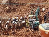 Zosuv pôdy v Malajzii