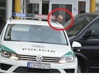 Miloš Kaštan opúšťa sídlo NAKA