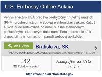 Aukcia americkej ambasády
