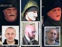 Maskovaní muži prepadávali banky