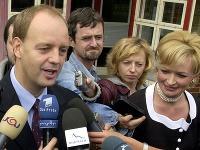 Pavol Rusko so svojou exmanželkou Vierou Ruskovou