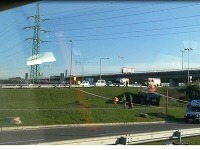 Nehoda v Bratislave