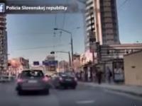 Policajti zverejnili video naháňačky v Bratislave