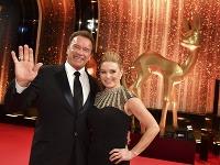 Arnold Schwarzenegger s priateľkou Heather Milligan sa zúčastnili odovzdávania cien Bambi.