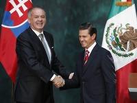 Andrej Kiska, Enrique Peňa Nieto