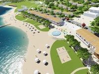 Takto by malo vyzerať nové námestie a pláž