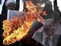 Zúrivé protesty Palestínčanov.