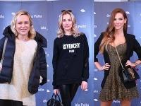 Známe krásky Michaela Čobejová, Denisa Mendrejová a Andrea Verešová pokrstili novú značku kozmetických produktov.