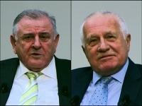 Václav Klaus a Vladimír Mečiar diskutovali v Prahe pri príležitosti 25. výročia rozdelenia Československa.