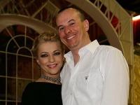 Martina Šimkovičová s manželom Igorom.