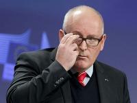 Prvý podpredseda Európskej komisie Frans Timmermans.
