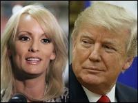 Stormy Daniels a Donald Trump