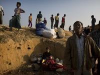 Utečenecký tábor Rohingov