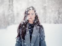 Na snímke kalamitná situácia v uliciach Košíc, spôsobená silným vetrom a snežením