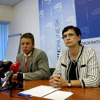 Ivan Mikloš a Lucia Žitňanská