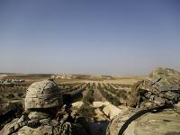 Americkí vojaci počas akcie