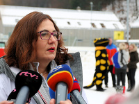 Ministerka školstva, vedy, výskumu a športu SR Martina Lubyová