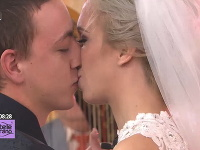 V dnešnom Teleráne sa odohrala skutočná svadba.