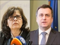 Lucia Žitňanská a Andrej Danko