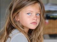 Thylane Blondeau ako najkrajšie dievčatko na svete.