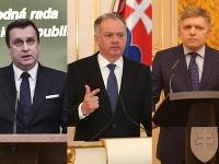 Trojica najvyšších politikov sa vyjadrila k súčasnej situácii v krajine