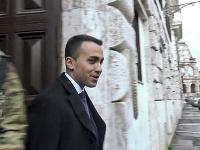 Luigi Di Maio, líder populistického Hnutia piatich hviezd (M5S)