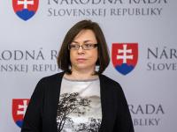 Členka poslaneckého klubu strany Sloboda a Solidarita Zuzana Zimenová.
