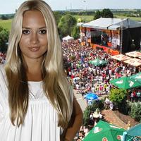 Barbora Rakovská a v pozadí pohľad na tohtoročný DOD v Markíze.