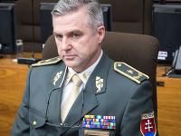 Tibor Gašpar na rokovaní Bezpečnostnej rady SR.