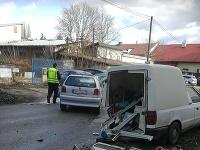 V Nitre došlo ku kolízii áut na vozovke