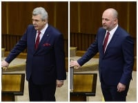 Peter Marček a Rastislav Holúbek