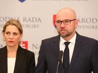 Jana Kiššová a Richard Sulík