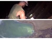 Havária baníkom rozleptala nohy a zabila ryby v potoku