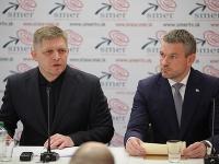 Robert Fico a Peter Pellegrini