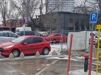 Jana bola šokovaná z toho, kde je umiestnené parkovacie státie pre ZŤP