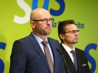 Richard Sulík a Ľubomír Galko